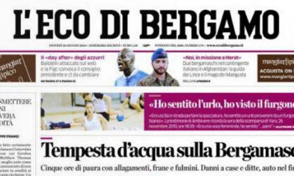 Le prime pagine di oggi giovedì 26 giugno 2014
