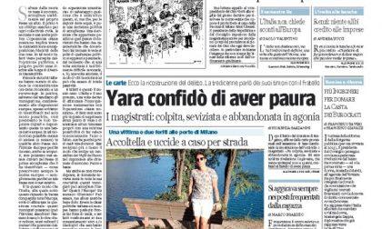 Le prime pagine di oggi giovedì 19 giugno 2014