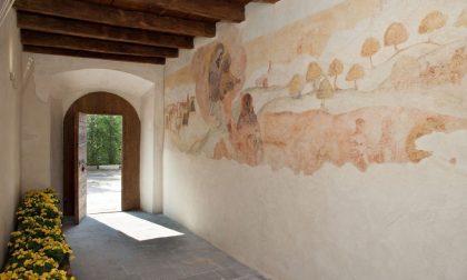 I suggestivi reperti romani scoperti nell'ex convento di Bariano