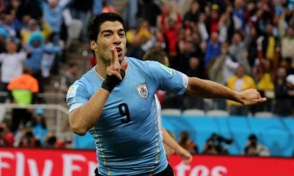 Inghilterra-Uruguay 1-2