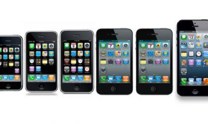 L'Iphone compie 7 anni