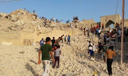 Distrutta la moschea di Giona