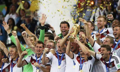 Germania campione del mondo, arrivederci a Russia 2018