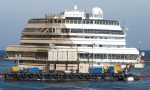 La Costa Concordia è ormeggiata