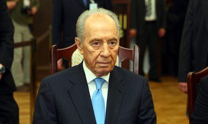 Shimon Peres, che oggi lascia