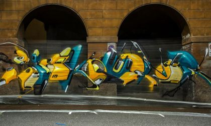 I graffitari a Bergamo (sappiate che è arte riconosciuta)