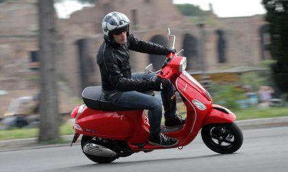 Gli scooter (125) in autostrada e i telai delle bici marchiati