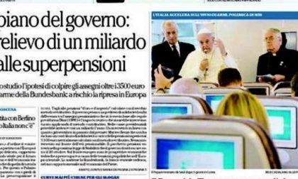 Le prime pagine di oggi martedì 19 agosto 2014