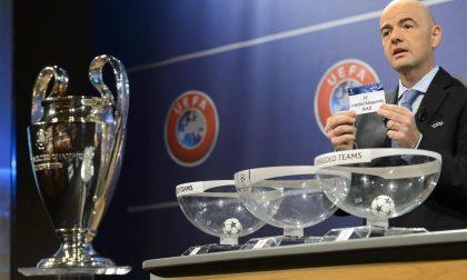 Champions, Roma girone di ferro Juventus con l'Atletico Madrid