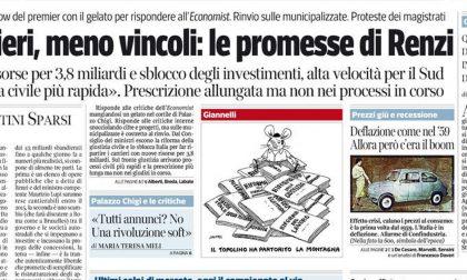 Le prime pagine di oggi sabato 30 agosto 2014