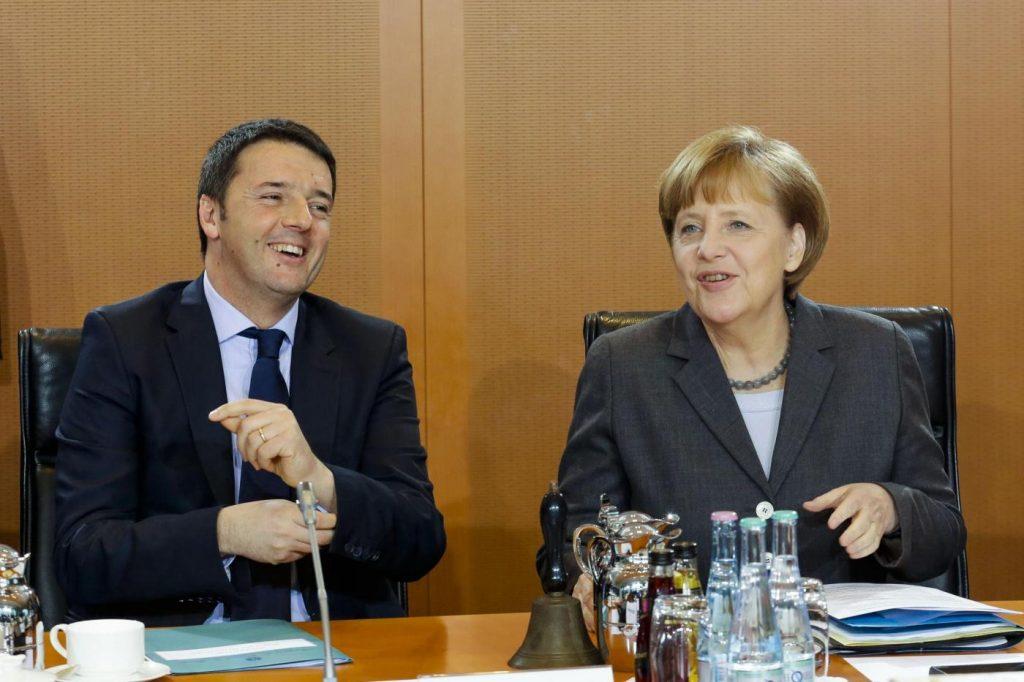 Berlino, Angela Merkel incontra Matteo Renzi