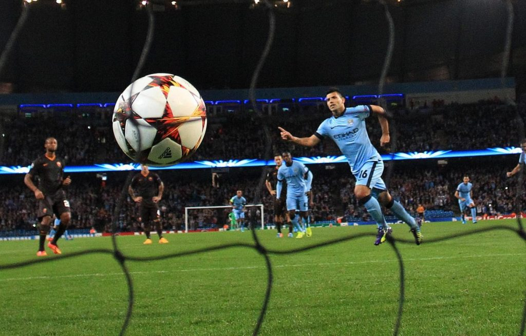 Manchester City vs. AS Roma - Champions League 2014/2015