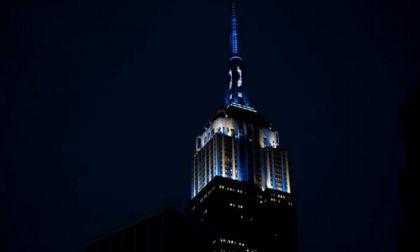 L'Empire si tinge di bianco e blu  in omaggio alla star del baseball