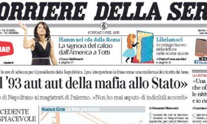 Le prime pagine di oggi mercoledì 29 ottobre 2014