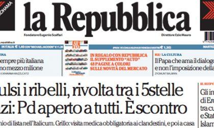 Le prime pagine di oggi martedì 21 ottobre 2014