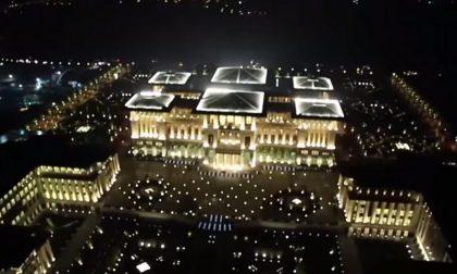 La reggia turca di Erdogan grande quattro volte Versailles