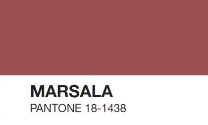 Hanno eletto il colore del 2015 È un morbido e intrigante Marsala