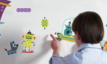 Peridea, un'azienda bergamasca che appiccica sui muri la fantasia