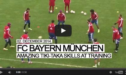 Bayern, 56 tocchi in 33 secondi È la danza ubriacante di Guardiola