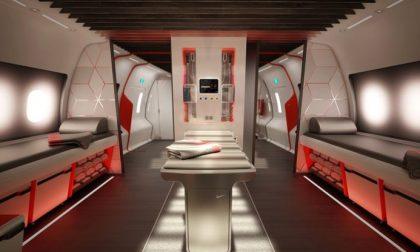 L'aereo super-lusso per gli sportivi Molto di più di una palestra volante