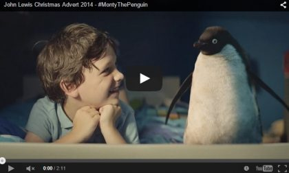 Il tenero spot di Natale col pinguino Retroscena, numeri e curiosità