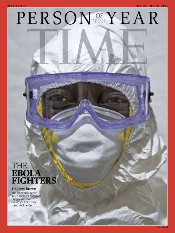 copertina time ebola jerry brown