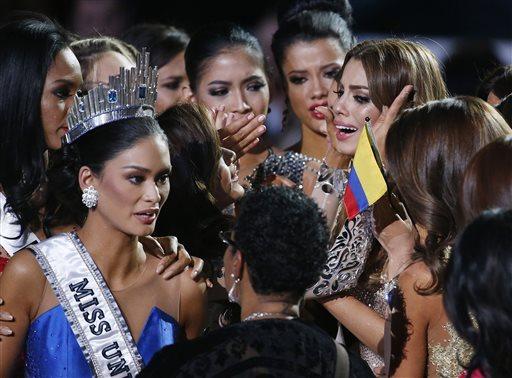 APTOPIX Miss Universe Pageant