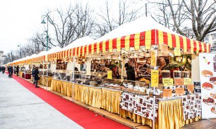 Centro pedonale domenica pomeriggio per la Festa del Cioccolato