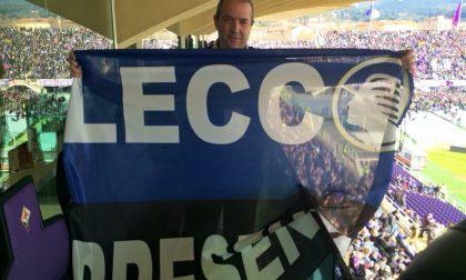 Lecco e Zanica presenti (nella tribuna dei tifosi viola)