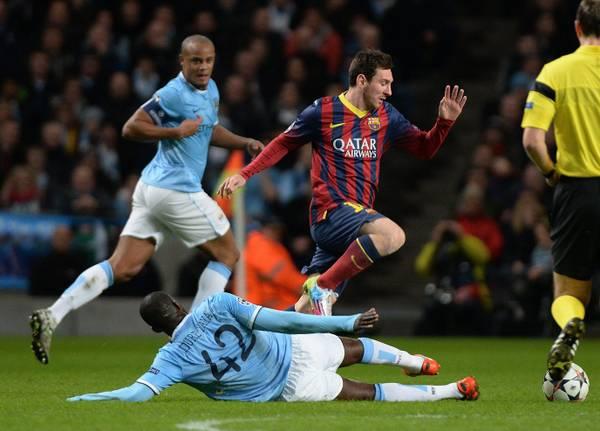 Manchester City vs Barcelona FC