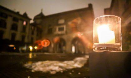 Città Alta a lume di candela