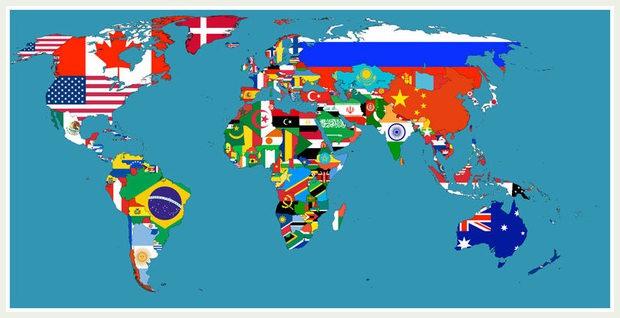 Cartina Mondiale Stati.Le 20 Bizzarre Mappe Del Mondo Che Vi Insegnano Qualcosa Di Nuovo Prima Bergamo