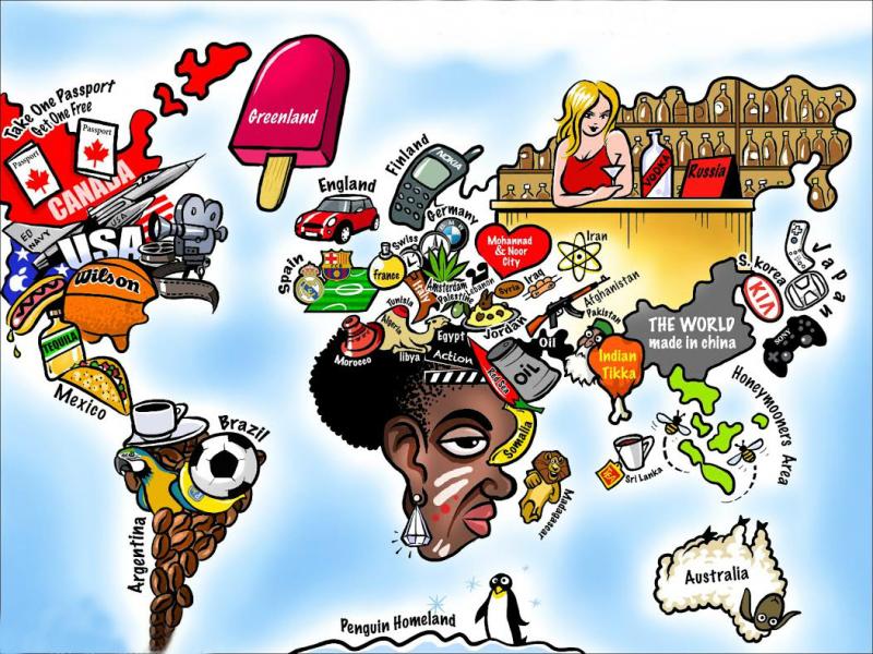 Cartina Mondo Con Bandiere.Le 20 Bizzarre Mappe Del Mondo Che Vi Insegnano Qualcosa Di Nuovo Prima Bergamo