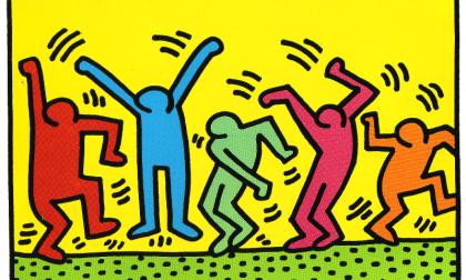 Keith Haring, «l'arte è per tutti»