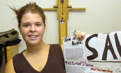 La commovente lettera di Kayla «In prigione si può essere liberi»