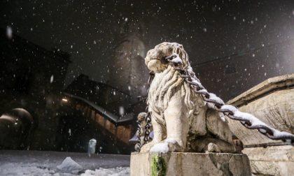 La neve in Città Alta