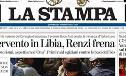 Le prime pagine di oggi  martedì 17 febbraio 2015