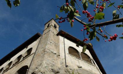 Il santuario di San Patrizio a Colzate Dato che oggi è festa grande