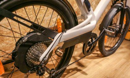 Le pedelec in via Partigiani Andare in bici, ma nel futuro