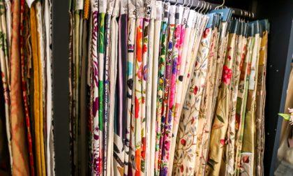Il negozio Dimore in via Masone Per vestire la casa haute couture