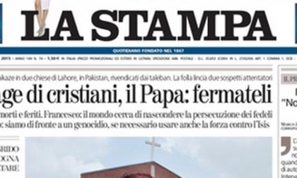 Le prime pagine di oggi lunedì 16 marzo 2015