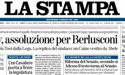 Le prime pagine di oggi mercoledì 11 marzo 2015