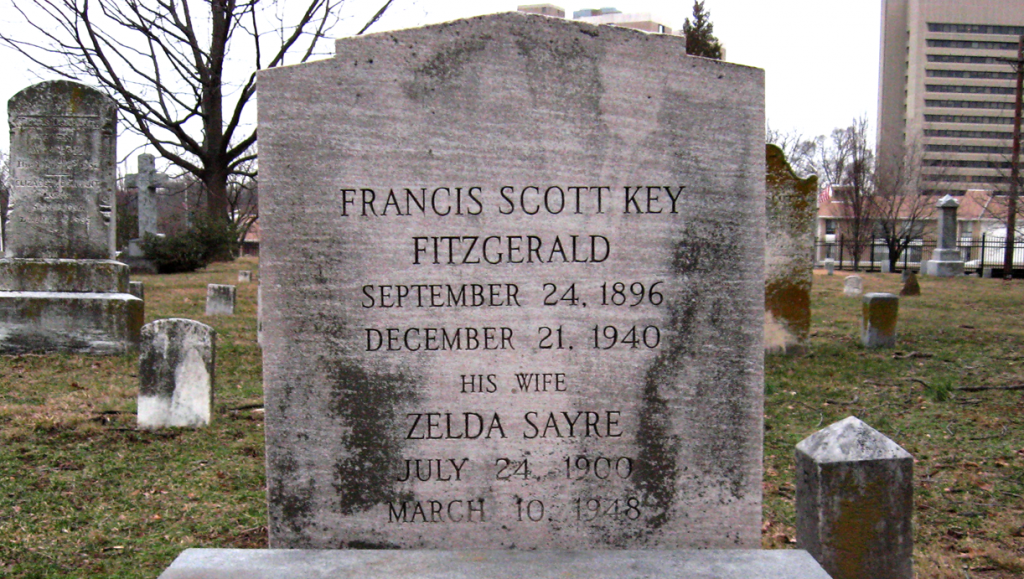 F._Scott_and_Zelda_Fitzgerald_grave