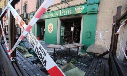 «Un incendio, probabilmente doloso all'origine dell'esplosione del Pub»