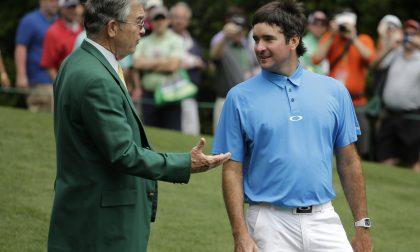 La giacca verde dei signori del golf