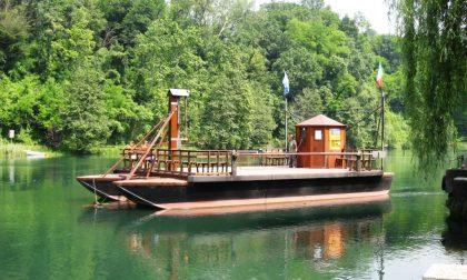 Gita al traghetto leonardesco Da sei secoli l'unico al mondo