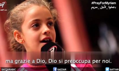 La fede di Myriam, bambina siriana «Chiedo a Dio di perdonare Isis»