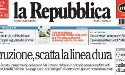 Le prime pagine di oggi giovedì 2 aprile 2015