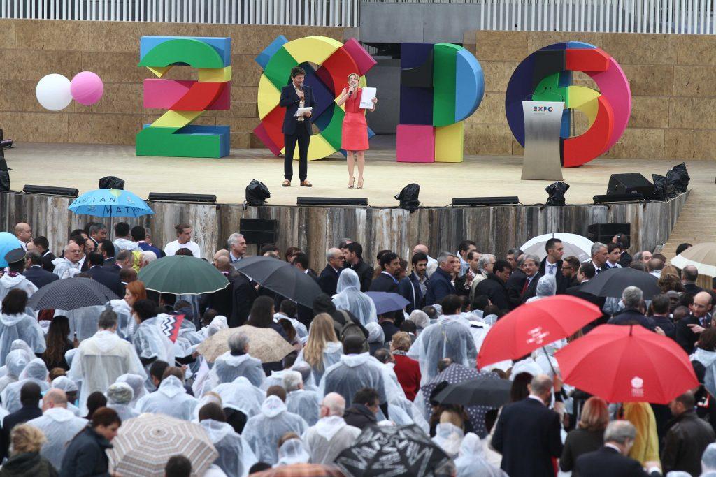 EXPO 2015 INAUGURAZIONE