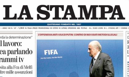 Le prime pagine di oggi venerdì 29 maggio 2015